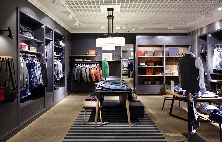 Ladenlokal mieten: attraktiver Shop für Kleidung