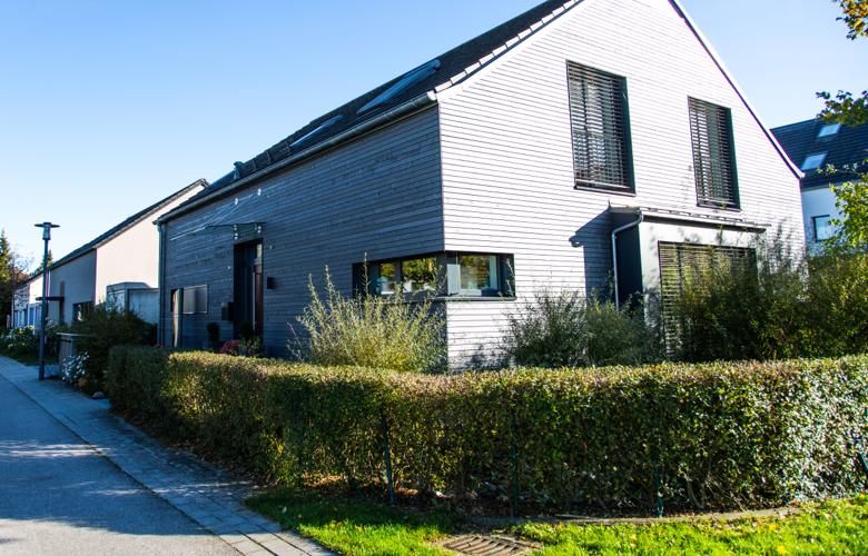 Eigenkapital beim Hauskauf: Einfamilienhaus von aussen